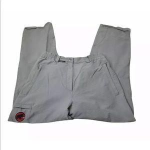 MAMMUT Dynamic Schoeller Hiking Nylon Gray Pants Mens Size 44